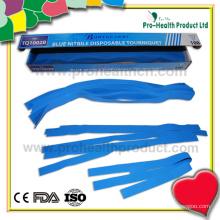 Torniquete descartável em uma caixa de papel (pH1179)