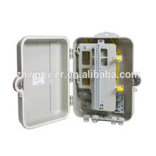 Ftth boîte de distribution câble de fibre extérieure fibre optique 48 cœurs boîte de distribution optique insert diviseur de fibre optique