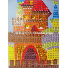 Mosaik-Kunstaufkleber der Kinder DIY für Palast