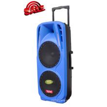 Batería recargable Altavoz para DJ con USB / SD Micrófonos inalámbricos Bluetooth