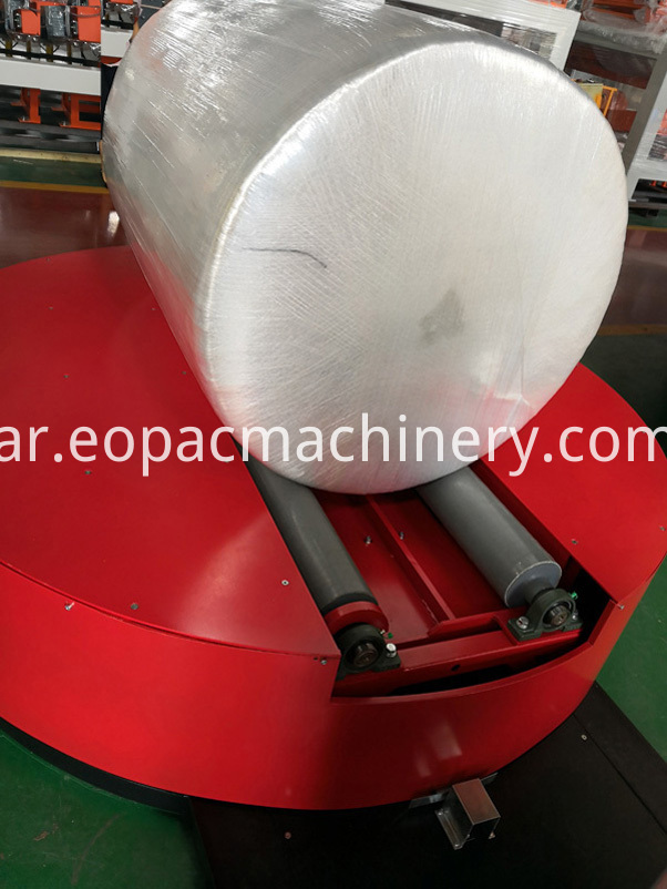 Reel stretch Film Wrapping machinery