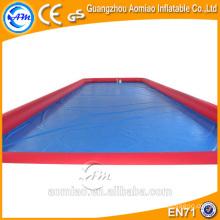 Tamanho adulto piscina inflável mesa de sinuca, grande piscina inflável quadrado