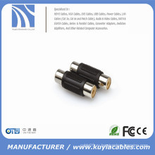 RCA Coupler Female to Female 2 RCA Inline coupler Adapter Стерео кабель