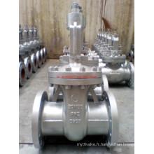 Vanne de porte en acier inoxydable JIS20k (Z41Y-20K-DN150)
