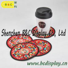 Hotel Coaster, Copa Coaster, Beer Coaster con 4c Printing Logo y obras de arte con SGS (B & C-G110)