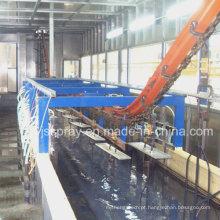Linha de produção de pintura de eletroforese com sistema de filtro