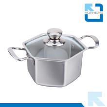 Potenciômetro de sopa do potenciômetro do aço inoxidável de alta qualidade 304