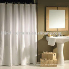 Bath white curtain new style