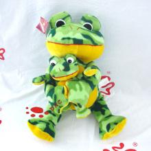 Plüsch Tierfrosch Mama und Baby Frosch