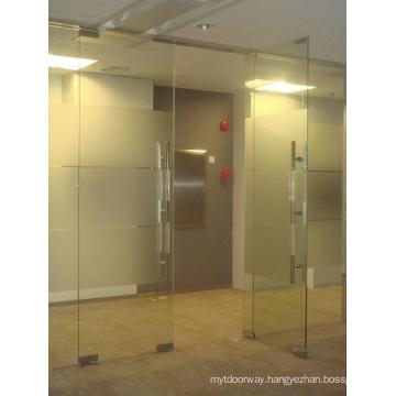 Passage Glass Floor Spring Door Closer