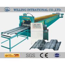 Stahlboden Bodenformmaschine