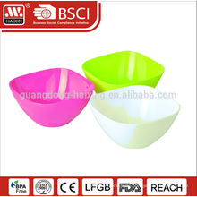 2015 Hotsales Kunststoff transparent Salatschüssel