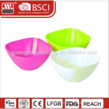 2015 Hotsales en plastique transparent saladier