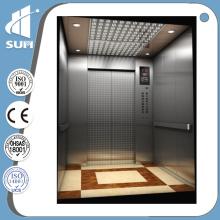 Puerta manual Velocidad de decoración de lujo 0.4m / S Home Lift