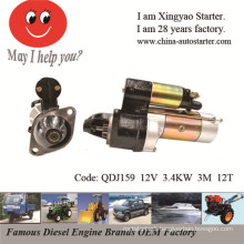 Starter with Internal Reduction Gear Manufacture