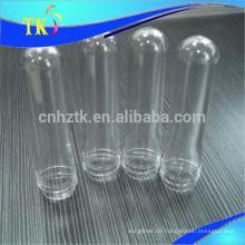 PET-Preform für Flaschen / 28 mm / 30 mm / 38 mm / 46 mm / 18 g / 28 g / 32 g / 43 g PET-Kunststoff-Flaschenvorform