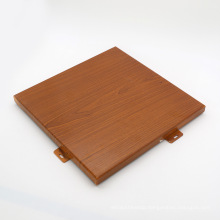 2.5mm 3mm PVDF Paint Wood Stone Color Aluminum Sheet Aluminium Solid Panel for Building Wall Decoration
