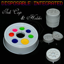 Runde Diateretic Pigment Tassen Tattoo Ink Cup für Tattoofarben