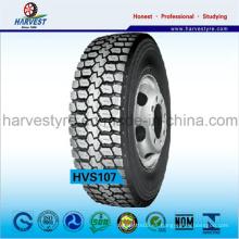 Neumáticos radiales de tracción sin cámara para camiones de la serie R22.5