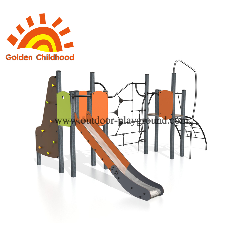 Slide Play Net Outdoor Playground Equipment For Sale