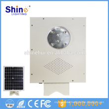 5W Integrated Solar Led Street Light all in one motion sensor led solar street light