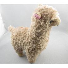 Brown alpaca plush toy giant stuffed animals kids toys for girls