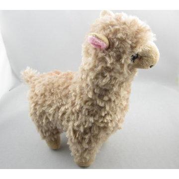 Браун альпака плюшевые игрушки гигантские чучела животных детские игрушки для девочек