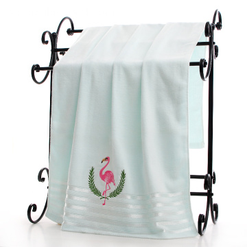 Swan Leaves Softness Hooded Bath Bathroom Towels