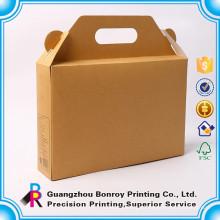 Vinho do cartão da garrafa do fornecedor 6 de China uma impressão da caixa de 5 litros