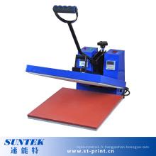 Machine manuelle de transfert de presse de la chaleur à plat pour la sublimation