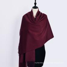 2017 winter solid color italian pashmina green scarf 100% cashmere
