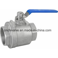 Levier Open CF8m Full Bore 2PC Ball Valve