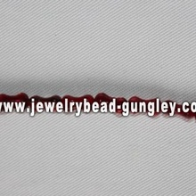 bone shape freshwater shell beads