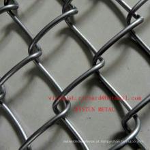 China Factory Galvanizado / PVC Revestido Chain Link Fence Diamond Wire Mesh