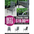 ATC Bestes Angebot Stapelbarer Stuhl im monatlichen Werbeartikel
