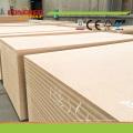 China Lieferant Plain MDF / HDF Blatt Preise
