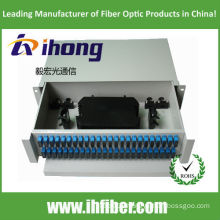Fiber Optic Termination Box Rack mount, slidable. SC48 Port