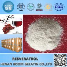 Polvo de resveratrol natural puro 20% ~ 99%