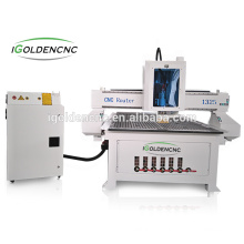 Best price 1325 wood cnc router with single-head for door,kitchen