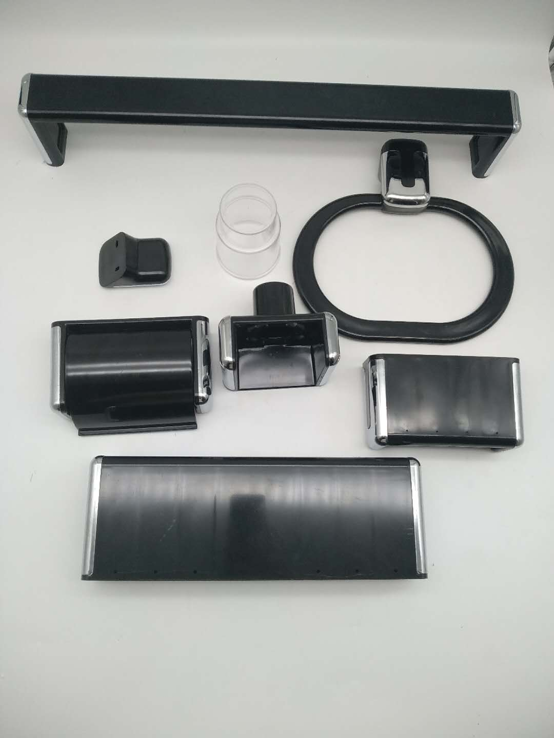 amazon complete black bathroom accessories set