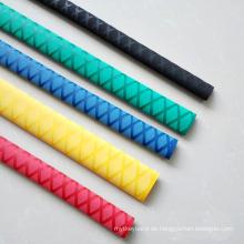 30mm Anti-Rutsch-Schrumpfschlauch Sleeve für Wrap LED Peitsche Griffrohr