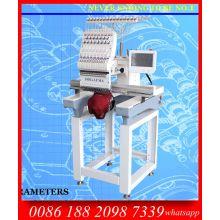 La mejor calidad sola cabeza alta velocidad 1200 máquina del bordado de Spm / Multi función de máquina del bordado