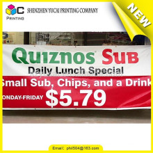 Latest new model Digital Printing PVC giant advertising flag banners