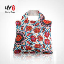 Promotion new design foldable polyester shopping bag