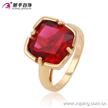 Fashion Zircon Copper Bbrass Alloy Plating Gold College Jewelry Finger Ring for Women -13527
