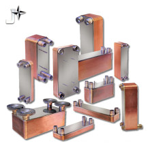 Échangeur de chaleur à plaques brasées 304/316 pour la climatisation