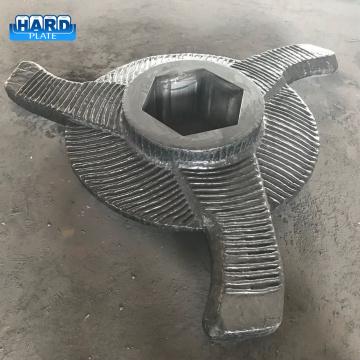 Лезвие ротора агломерационной дробилки с покрытием из карбида хрома