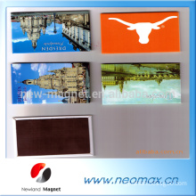 High Quality 3D Custom PVC Souvenir Fridge Magnet