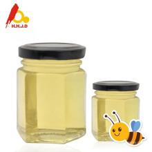 Nutrição rica e mel de acácia crua