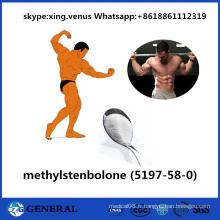Anti stéroïdes crus Methylstenbolone d'oestrogène